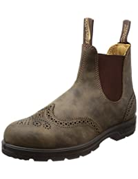 Blundstone 1471 Leather Lined Brogue in Rustic Brown