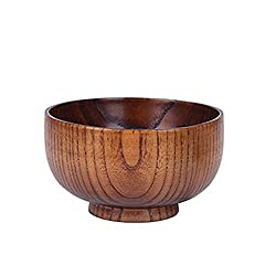 Gaosaili Natural Wooden Bowl Strip Bowl L