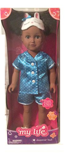 "My Life As 18"" Sleepover Host Doll, African American"