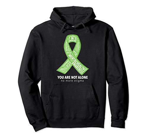 Mental Health Awareness Ribbon Word Cloud ()