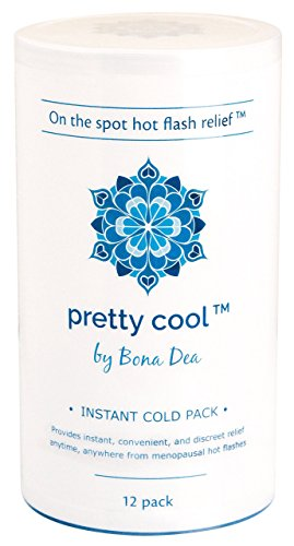 h Relief Instant Cold Pack, No Hormones, No Refrigeration Required, 12 Piece (Menopause Pack)