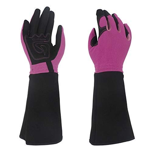 ACAO Rose Pruning Gloves for Men & Women, Long Thorn Proof Gardening Gloves, Best Garden Gifts & Tools for Gardener (Color : E, Size : S) by ACAO-Glove (Image #5)