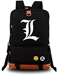 Siawasey Death Note Anime Light Yagami Cosplay Backpack Shoulder School Bag