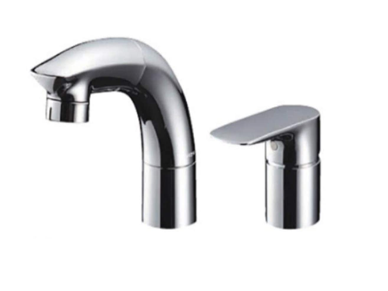 予測インゲン異常なLIXIL(リクシル) INAX ホース引出式シングルレバー混合水栓 エコハンドル フルメッキタイプ エコハンドル 小型吐水切替機能 RLF-682Y