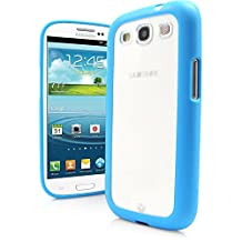 Galaxy S3 Case, MagicMobile® Ultra Thin Slim Clear Case for Galaxy S3 Protective Cover Armor [TPU] Bumper Frame Case for Samsung Galaxy S3 Transparent Crystal Back Cover - Blue