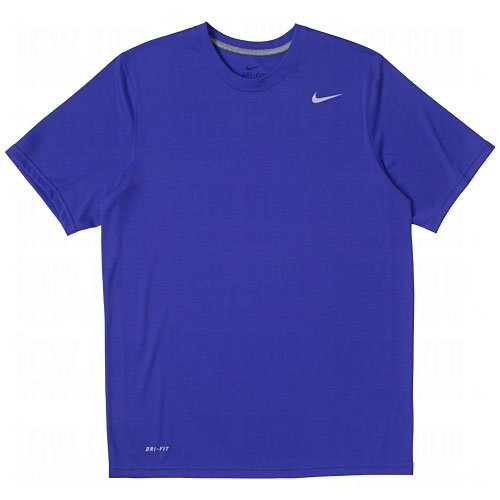 - Nike Men's Legend Short Sleeve Tee, Royal, M