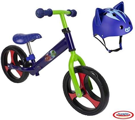 DARPEJE Bicicleta correpasillos Trendy 12íí + Casco con Orejas 3D ...