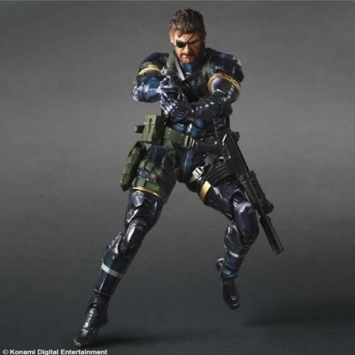 Square Enix ''Metal Gear Solid V'' Play Arts Kai Solid Snake Action Figure by Square Enix