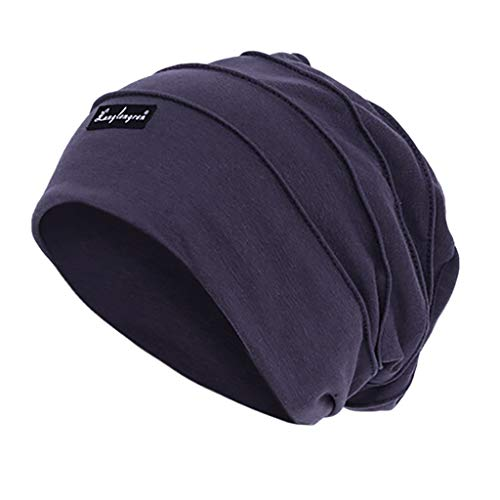 (Weiliru Men's Outdoor Skiing Cycling Helmet Winter Pure Colored Cotton Baotou Hat)