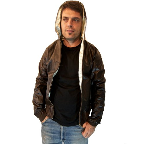 Ark-Unisex-Hoody-Reworked-Vintage-Leather-Jacket