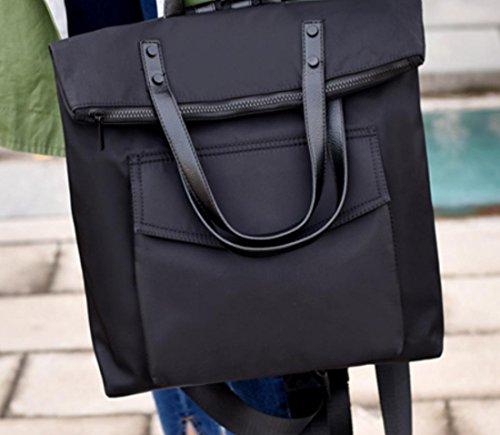Zaino da viaggio Bag YCMDM 2017 Nuova spalla Donna Uomo di grande capienza della borsa Oxford tessuto impermeabile Vento Collegio , black