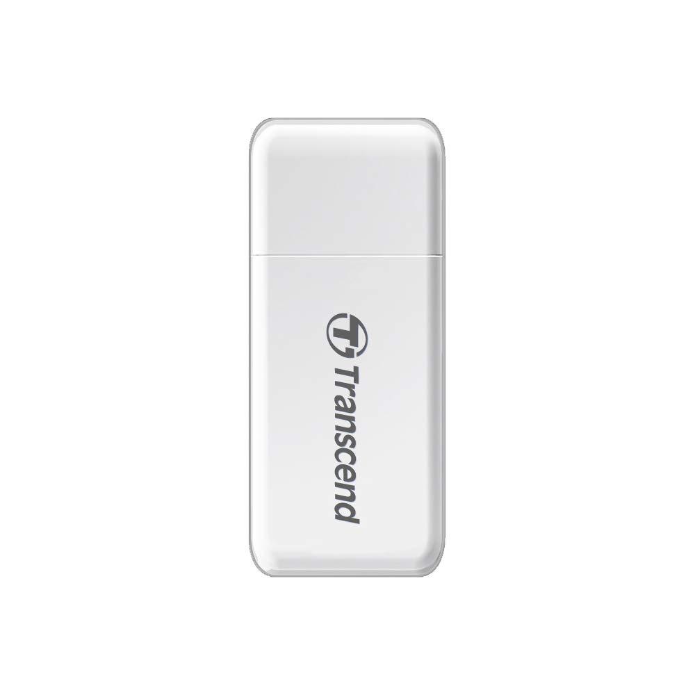 Transcend RDF5 Negro USB 3.1 Gen 1 Lector de Tarjetas conector USB tipo A ranura SD y microSD