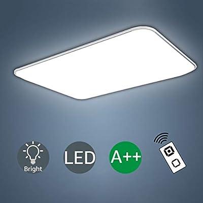 48W Plaf/ón LED L/ámpara de Techo luz de Techo Corredor Sala de Estar l/ámpara Dormitorio Blanco fr/ío Ahorro de energ/ía Iluminaci/ón de Techo-5252CM