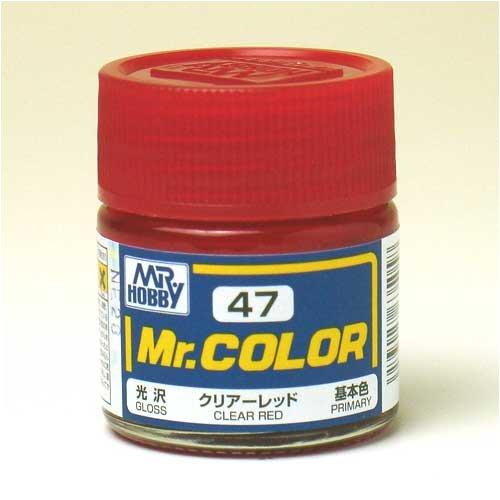 Mr.カラー C47 クリアーレッド