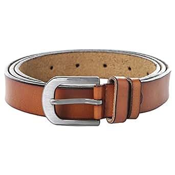 Venus Accessories Orange Leather Belt For Women