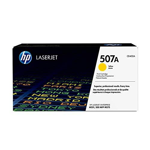 HP 507A (CE402A) Yellow Toner Cartridge for HP LaserJet Enterprise 500 551 570 575