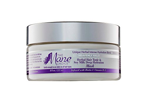THE MANE CHOICE Heavenly Halo Herbal Hair Tonic & Soy Milk D