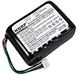 HQRP Battery for Logitech Squeezebox 930-000106, 533-000050, HRMR15/51, NT210AAHCB10YMXZ, X-R0001, 930-000097, 930-000101, 930-000129 Wi-Fi Internet Radio (Black / Red / White)