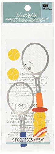 (Jolee's By You Dimensional Sticker, Tennis)