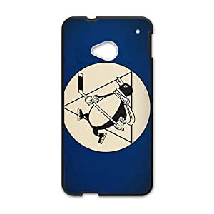 QQQO minimalistic sports team hockey NHL Pittsburgh Penguins Phone case for Htc one M7