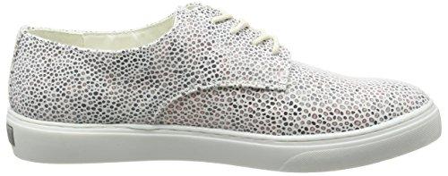 Bugatti Damen V66016 Sneakers Weiß (weiß/grau 232)