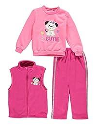 "Mon Petit Little Girls' Toddler ""#Cutie"" 3-Piece Outfit"