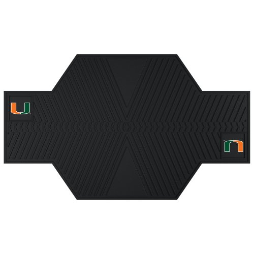 Fan Mats 15238 University of Miami Motorcycle Mat