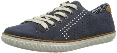 Rieker L9115, Sneakers femme Bleu (Pazifik/Nuss 15)