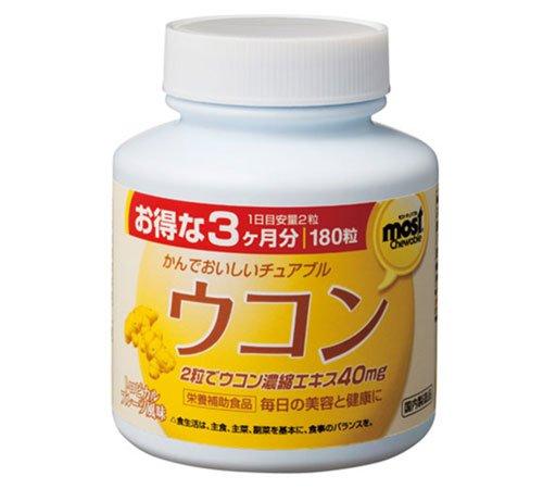 MOST chewable Turmeric UKON 180tabx1 product image