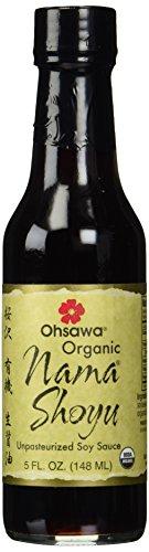 OHSAWA Organic Nama Shoyu Sauce, 5 Ounce