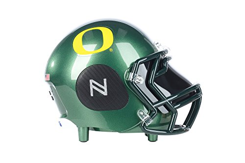 Nima Athletics NCAA Football Oregon Ducks Wireless Bluetooth Speaker. Officially Licensed Portable Helmet Speaker by NCAA College Football - - Player Football Duck