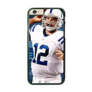 NFL Case Cover For SamSung Galaxy S6 Black Cell Phone Case Indianapolis Colts QNXTWKHE1423 NFL Phone Protective Generic
