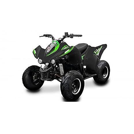Quad New Big Foot 110 cc Lem Motor - Quad New Big Foot 110 cc Negro Verde: Amazon.es: Coche y moto