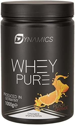 Eiweißpulver zum abnehmen | Dynamics Nutrition Whey Pure 1kg | Whey Isolate | Low Carb | Low Fat | Aspartam Frei...
