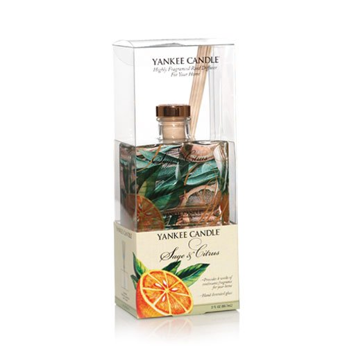 Sage & Citrus - 3oz Signature Oil Reed Diffuser Yankee Candle
