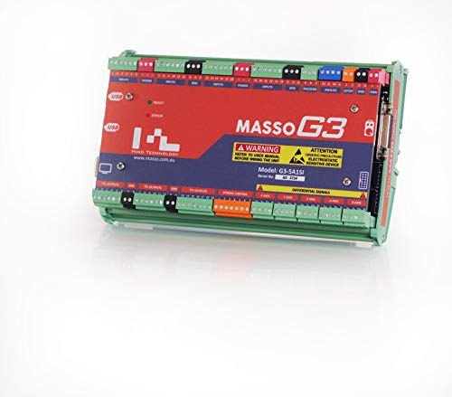 MASSO G3 CNC Controller, PC-Less Controller, All-in-one Hardware and Software System, Easy Setup…
