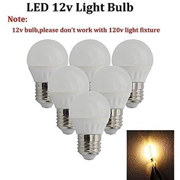 Pack Of 2 Warm White Sunthin 7w E26 12v A19 Led Bulb