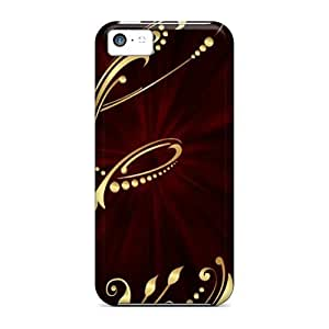 Iphone 5c Case Cover Skin : Premium High Quality My Creation Letter E Case