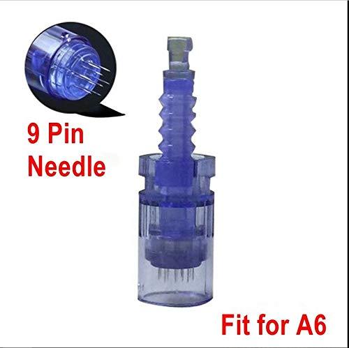 9 Pin QiQibaby 50PCS Dr.Pen Ultima A6 Replacement Parts Cartridges