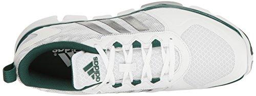 adidas Performance Herren Speed Trainer 2 Trainingsschuh Weiß / Carbon Metallic / Collegiate Grün