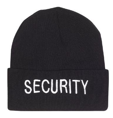 - Rothco Embroidered Watch Cap - Security
