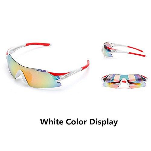 Deportivas Sin Gafas para Azul Hombre Color Gafas para Red LBY Sol para Gafas Gafas Exteriores de Bordes HD Miopía Sol nqRppvYCw