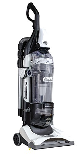 Eureka As1095A Professional Bagless Upright Vacuum Cleaner with High Flow Air Channels-Corded, White