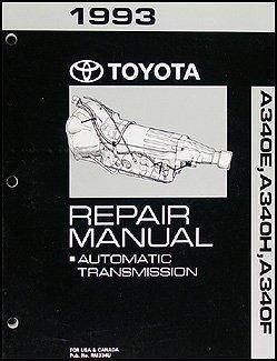 1993 toyota 4runner and truck automatic transmission overhaul manual rh amazon com 1993 toyota 4runner service manual pdf 93 toyota 4runner owners manual