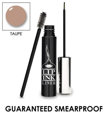 LIP INK Organic Vegan 100% Smearproof Miracle Brow Liner, Ta