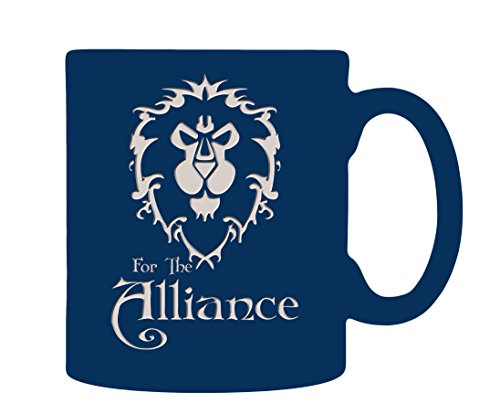 World of Warcraft Alliance Etched Coffee Mug