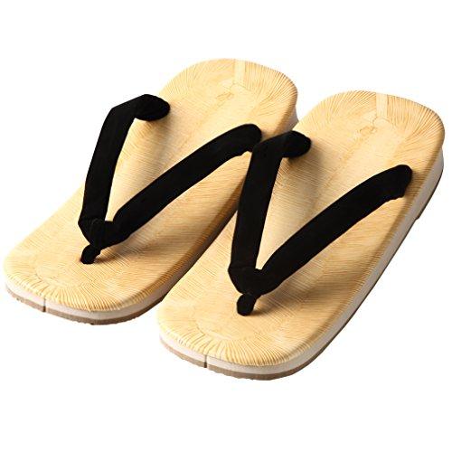 Edoten Svart Setta Japansk Tatami Zouri Sandaler Svart