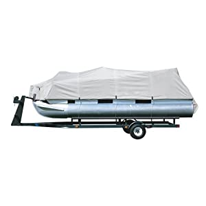 Pyle Armor Screen Trailer Guard Pontoon Boat Cover, 25-28-Feet x 96-Inch