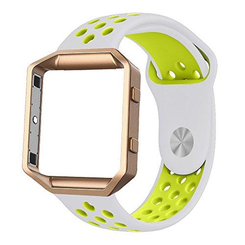 Fitbit Silicone Alritz Wristband Silver