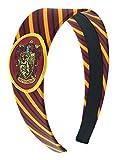#3: Harry Potter Headbands for Women and Girls' Hogwarts Houses Gryffindor Slytherin Ravenclaw Hufflepuff (Gryffindor)